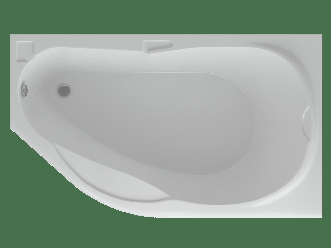 Акриловая ванна Акватек Таурус 170х100 см левая/правая