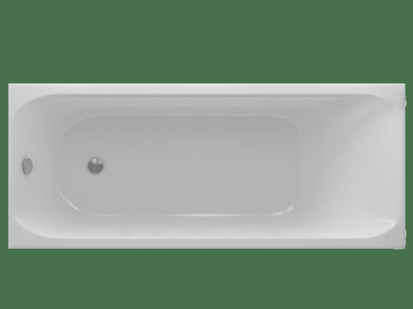 Ванна акриловая Акватек Альфа 150х70 см