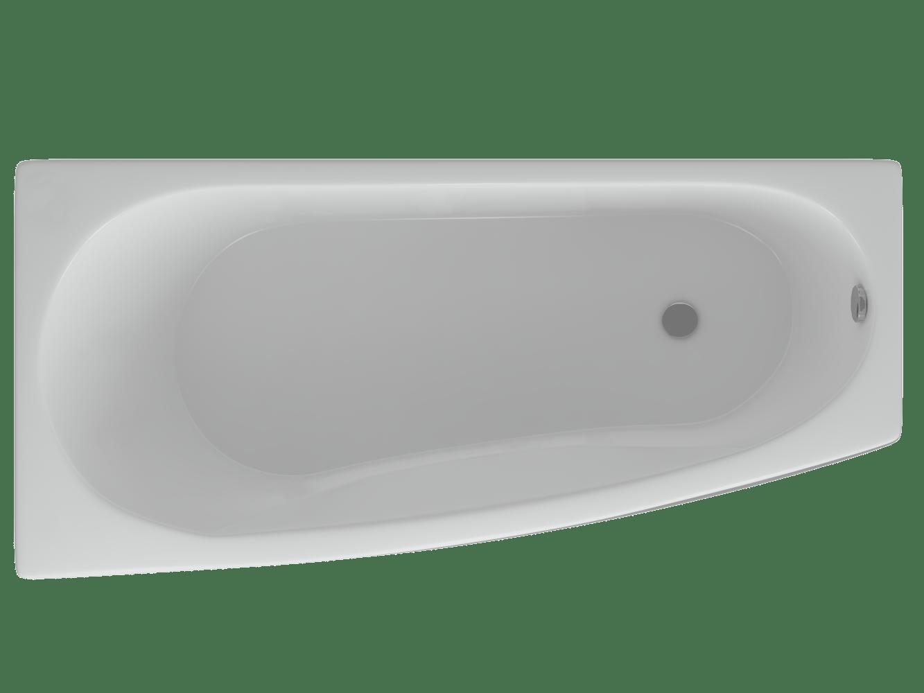 Акриловая ванна Акватек Пандора 160х75 см, r/l