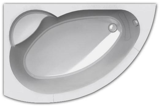 Ванна акриловая Акватек Аякс 2 170х110 см