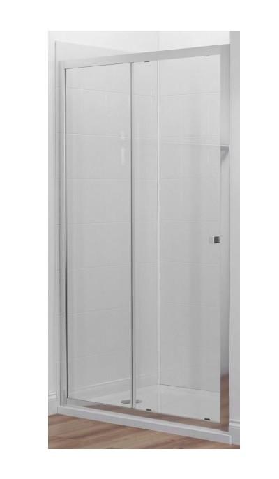 Душевая дверь в нишу Jacob Delafon Serenity 100 x 190 см, прозрачное стекло, хром E14C100-GA