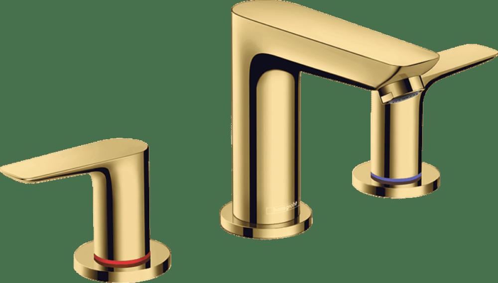 Смеситель Hansgrohe Talis E 71733990 для раковины, золото