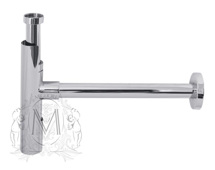 Cифон для раковины Migliore ML.RIC-10.114, хром, Ø32